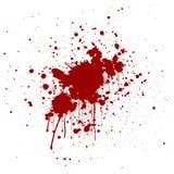 Abstract splatter red color background. illustration design. Royalty Free Stock Image