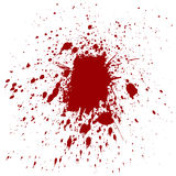Abstract splatter red color background. illustration  design Royalty Free Stock Photos