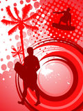 Abstract sport background Stock Photo