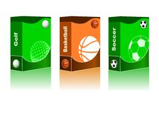 Abstract sport background Royalty Free Stock Photography