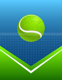 Abstract sport background tennis. vector Royalty Free Stock Photography