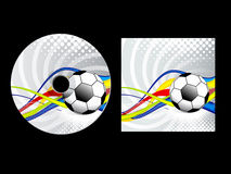 Abstract sport cd pack Stock Images