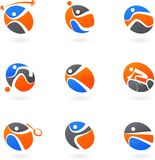 Abstract sport icons vector illustration