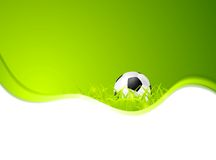 Abstract sport soccer vector background Royalty Free Stock Photos