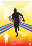 abstract sport vector Royalty Free Stock Photography