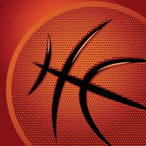 Abstract sports background with basketball texture Stock Photography