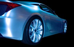 Abstract Sports Car Stock Photos