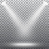 Abstract spotlight effect Royalty Free Stock Photography