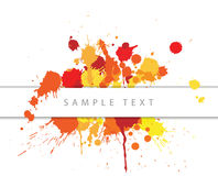 Abstract spots background Royalty Free Stock Photo