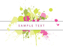 Abstract spots background Royalty Free Stock Photos