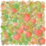 Abstract Spots Pattern - Red and Green - Accumulation Stock Photos