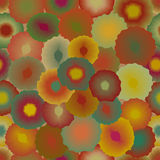 Abstract spots seamless pattern. Royalty Free Stock Photography
