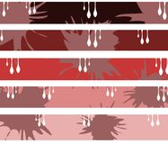 Abstract spotted header Royalty Free Stock Images