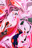 Abstract spread colors. Spread coloring interspersed blending creative Stock Image