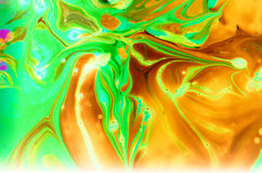 Abstract spread colors. Relationships, color, texture, flow of liquid water flow pattern flowingly art color color art liquid dispersed Stock Images