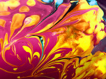 Abstract spread colors. Relationships, color, texture, flow of liquid water flow pattern flowingly art color color art liquid dispersed Stock Image