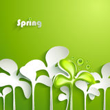 Abstract spring background Stock Image