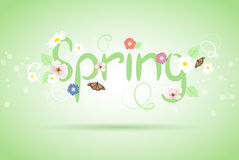 vector abstract spring background Royalty Free Stock Image