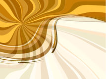 Abstract spring background in orange colour Stock Photography