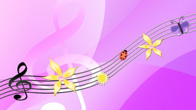 Music of Spring Stock Photography