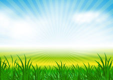 Abstract spring background vector illustration