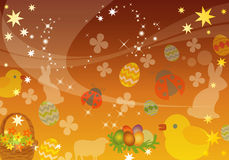 Abstract Spring, Easter Background Stock Photo