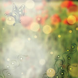 Abstract spring floral background Stock Photos