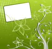 Abstract spring floral background vector Royalty Free Stock Photo