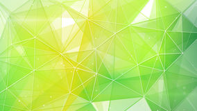Abstract spring geometrical background vector illustration