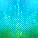 Abstract spring mosaic Stock Image