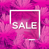Abstract  Spring Summer Sale colorful banner for business Stock Image