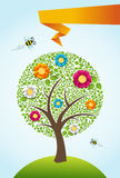 Abstract spring time tree background Royalty Free Stock Image
