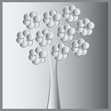 Abstract spring tree Royalty Free Stock Image