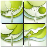 Abstract spring tree Stock Images