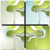 Abstract spring tree Royalty Free Stock Photos