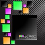 The abstract sqare background Stock Image