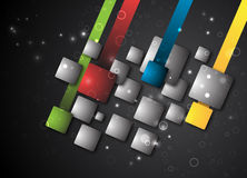 Abstract square background Stock Photography