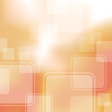 Abstract Square Background. Soft square shapes float on a gradient abstract background Stock Photography