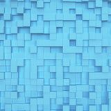 Abstract square background. 3d illustration royalty free illustration