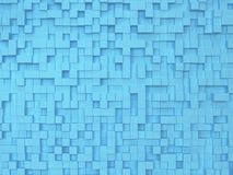 Abstract square background. 3d illustration stock illustration