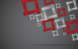 Abstract square background. Clip-art Royalty Free Stock Photography