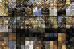 Abstract square background design Stock Images