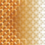Abstract square background. The gold square abstract for background texture Stock Images