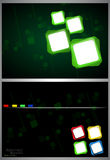 Abstract square background. Vector Stock Photos