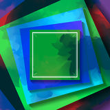 Abstract square background Stock Image