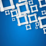Abstract square background. Vector Illustration Royalty Free Stock Images
