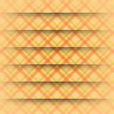Abstract Square On Beige Background Stock Photography