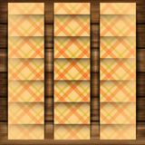 Abstract Square On Beige Background Royalty Free Stock Photography