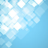 Abstract square blue background. Vector Royalty Free Stock Photos