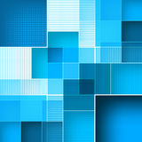 Abstract square blue background. Vector Stock Photography